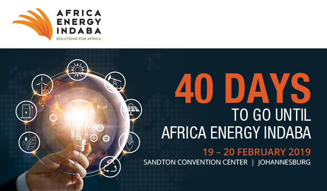 40 Days to go until Africa Energy Indaba!